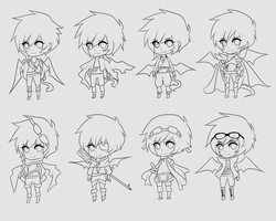 idk if these will ever be finished by Pikerth