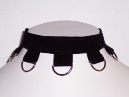D-rings choker by Lincey