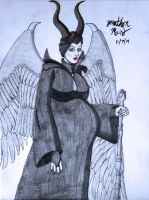[Request] Pregnant Maleficent Normal Wear by JAM4077