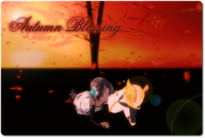 Contest Entry - Autumn Blessing by AkitaFanZ