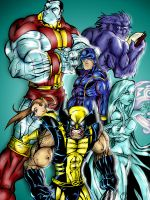 Astonishingly Colored X-Men by scruffyzero