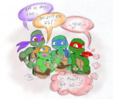 TMNT 2012: Bro Love by jgtcreateflb