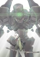 Mech and Pilot 2 by BrotherBaston