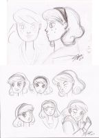 April s faces. by sophisticada