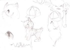 Tanaka design sketches by Fur3ver