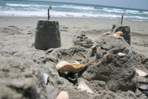 Sand Castle 0002 by poeticthnkr