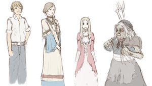 Character Design - 20121015 by Vinsuality