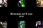 43 RE5 icons (.zip + link) by xJillValentinex