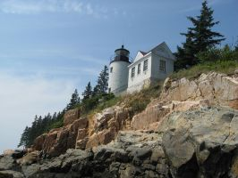 Bass Harbor Lighthouse 2 by Reyphotos