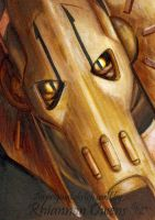 General Grievous sketch card by Dangerous-Beauty778