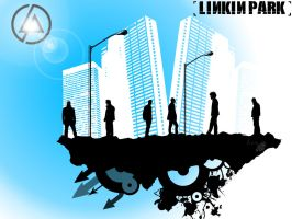 Linkin Park black by Iron42