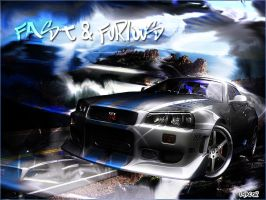 Fast and Furious by lxfactorl