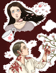 Hannibal-- Cherry Blossoms by Teddybear-93