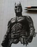 Dark Knight- WIP by joannewhiteart