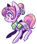 Another flower pony by Looji