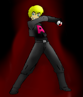 team rocket operator billy by omegaproductions