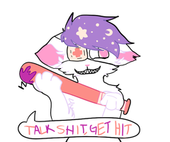 talk shit get hit by madokitty