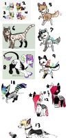 -+Cool Character Mass Adopt+- by BleedingColorAdopts