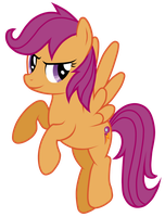 Grown up Scootaloo by JennieOo