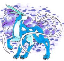 Day30- Suicune by TwodeeWeaver