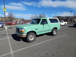 1995 Ford Bronco XLT by TheHunteroftheUndead