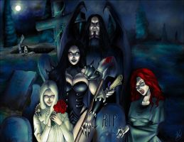 The gravediggers of Lot by Daelyth