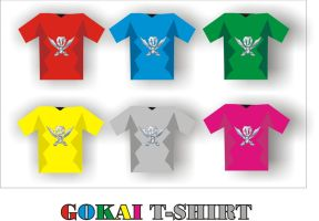 Gokai T-Shirts by super-frankie8