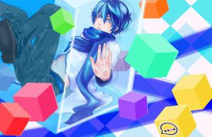 Kaito In A Box By Yueta by Animus-Rhythm