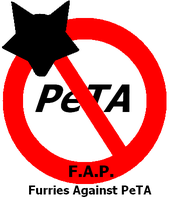 Furries Against PeTA logo by the-taxidermy