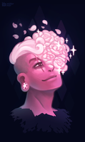 Someone who deserves it [Pink Zombie Lars] by SorceressDream