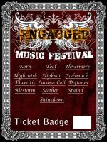 Engauged Ticket badge by aziroth