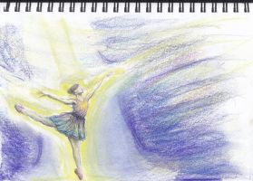 Ballet dancer WIP by ColourChromaticism