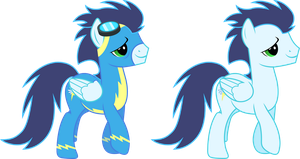 Soarin (Wonderbolt) by 90Sigma