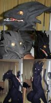 Dragon Costume (mask for sale) by omtay