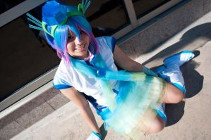 Vocaloid3 i-Style Project: Aoki Lapis by akarimichelle