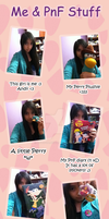 Me and PnF stuff by AndiiGrr
