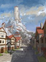 Town by CantaZhang