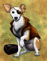 Pirate Dog for Riabhach by WSTopDeck