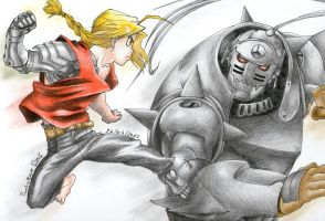 Elric Brothers by Conzy94
