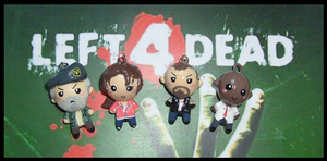 Chibi-Charms: Left 4 Dead by MandyPandaa