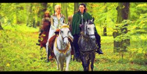 Loki and Sigyn II by sibandit