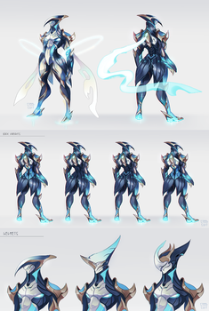 fan concept: Luxcrua by steelsuit