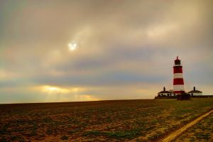 Happisburgh lighthouse - HDR by Preachman
