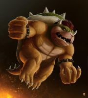 Bowser by M-Thirteen