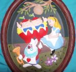 Alice Plaque by MadForHatters