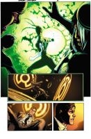 Green Lantern 5 Page Three by xXNightblade08Xx