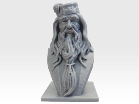 Albus Dumbledore Bust by daylightdreams