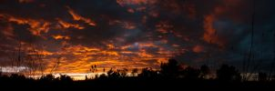 Colorful Clouds in the Sky I by xDx