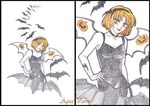 Miranda Halloween by AquaVarin