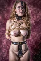 Chastity, Nose Hooks and Rope by Ero-Kawaii